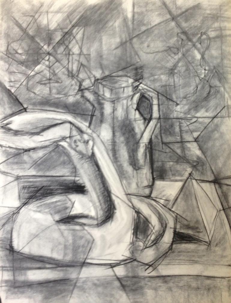 charcoal on paper 18 x 24
